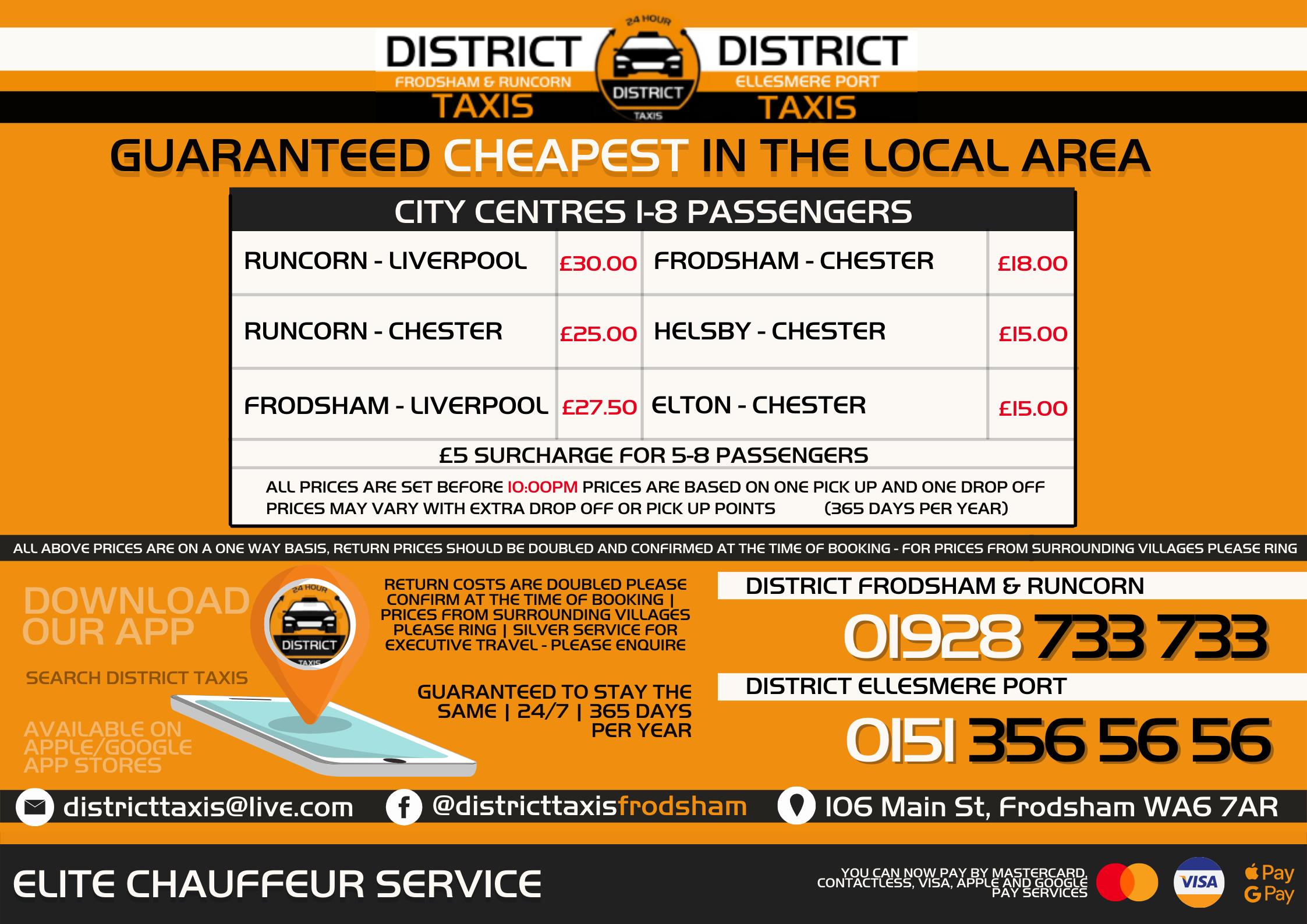 Mobile version of large pricing sheet 2